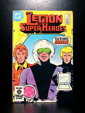 COMICS: DC: Legion of Super-Heroes #312 (1980s) - RARE (flash/batman/wonder)