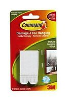 3M Command Strips Poster / Picture Hanging Hangers Medium 17201 3 pack