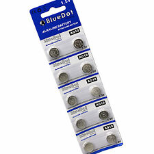 (LOT 10) PCS LR1130 AG10 389A Alkaline Watch Battery Button Cell 1.5V US Seller