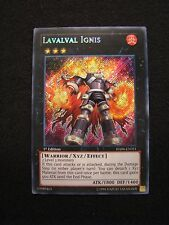 Yu-Gi-Oh! Lavalval Ignis HA06-EN051 1st Edition Mint Trading Card