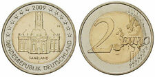 "MONETA UE 2 EURO COMMEMORATIVO 2009 GERMANIA "" SAARLAND """