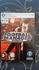FOOTBALL MANAGER 2008 PC - MAC  EDIZIONE ITALIANA SIGILLATO