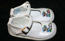 Girls size 22 PA'MI bebe strawberry shortcake baby leather shoes size US 6 6.5