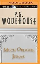 Much Obliged, Jeeves by P. G. Wodehouse (2015, MP3 CD, Unabridged)