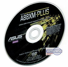 ASUS A88XM-PLUS MOTHERBOARD DRIVERS  M4564 WIN 7 8 8.1 10 DUAL LAYER DISK