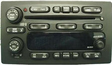 GM Delco CD6 radio FACE. Worn buttons? Solve it with this new OEM part. (wht)