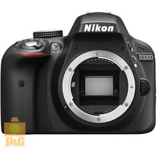 NEW BOXED NIKON D3300 DIGITAL CAMERA BODY ONLY / BLACK