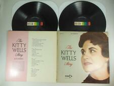 THE KITTY WELLS STORY,  with THE JORDANAIRES on Decca DXSB 7174 DOUBLE LP in EX+