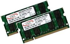 2x 2GB = 4GB Notebook RAM DDR2 667 Mhz SODIMM 200pin