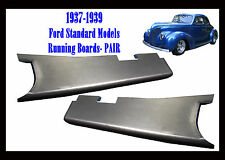1937 1938 1939 Ford Car Steel Running Board Set  NEW PAIR!!  Made in USA
