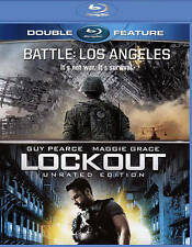 BATTLE : LOS ANGELES & LOCKOUT BLURAY GUY PEARCE