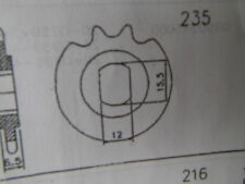 Sachs Hercules Ritzel  235 18 Zähne NEU