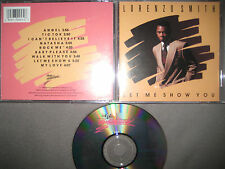 Rare CD Lorenzo Smith ‎– Let Me Show You Alpha International Records (c) 1990