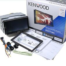 Kenwood DDX773BH In Dash Double Din DVD Receiver Built in Bluetooth & HD Radio