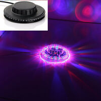 UFO LED Stage Crystal Light Lamp RGB for DJ/Disco//Party/Bar/XMAS Voice-activate