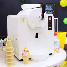 Patented Automatic Soft Serve Ice Cream Maker (No freezer bowls!)