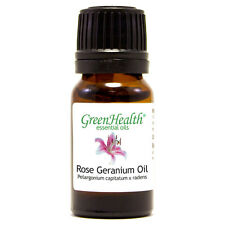 10 ml Rose Geranium Essential Oil (100% Pure & Natural) - GreenHealth