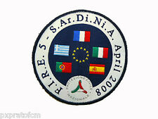 Patch Toppa F.I.R.E. 5 S.Ar.Di.Ni.A. April 2008 Protezione Civile Nazionale