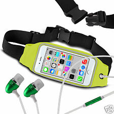 For Acer Liquid Glow E330 Running Fitness Sports Waistband Case & Handsfree