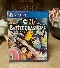 New Cartoon Network Battle Crashers Game Sony Playstation 4 PS4 CN Fun Adventure