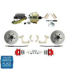 "1955-58 GM Full Size Disc Brakes W/ 8"" Dual Zinc Booster Conversion Kit 205R"