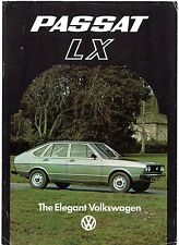 Volkswagen Passat LX 5-dr Limited Edition 1977 UK Market Leaflet Sales Brochure