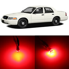 Alla Lighting 3rd Brake Light 912 Pure Red 12V LED Bulbs for Ford Crown Victoria
