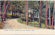 SOUTH MANCHESTER CT – Highland Park The Pines – udb (pre 1908)