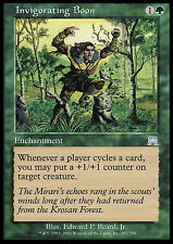 Invigorating Boon X4 EX/NM Onslaught MTG Magic Cards Green Uncommon