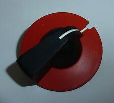Drehknopf Bedienknopf Schaltknopf Dreh- Knopf rot schwarz Ø 37,5mm bis 6er Welle