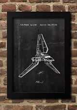 Star Wars Imperial Shuttle 1985 Patent Art Fine Art-Print A4 Galeriequalität S1