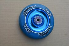 YAK 88A SCAT METAL CORE BLUE ALLOY CENTRE 108MM SIZING APPROX ABEC 7 BEARINGS