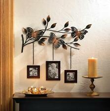 Butterfly Wall Decor Picture Frame Butterfly Wall Plaque Metal Wall Art