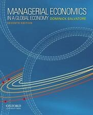 Managerial Economics in a Global Economy by Salvatore, Dominick