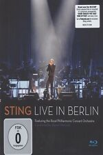 "STING ""LIVE IN BERLIN"" BLU RAY NEU"