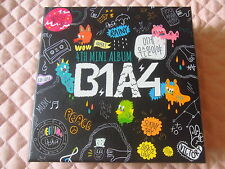 B1A4 4th Mini Album What's Going On? Autographed CD K-POP Sandeul Sticker