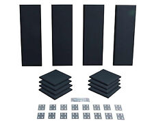 Primacoustic London 8 Room Kit | Acoustic Treatment in Black | Pro Audio LA