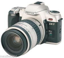 Used Pentax ZX-7 35mm Film camera, GREAT Zoom lens, bag, accessories w/warranty
