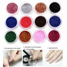 Mix Color Shiny Manicure Decoration Dust Tips Nail Art Glitter Acrylic Powder