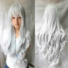 New Fashion Multicolor Women's Long Curly Anime Cosplay Party Wigs
