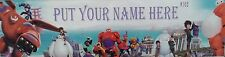 """FREE """"BIG HERO 6"""" POSTER/ PRINT PERSONALIZED WITH YOUR NAME."""