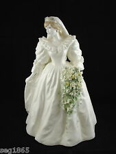 COALPORT ROYAL BRIDE FIGURINE  DIANA PRINCESS OF WALES 7795 / 12500