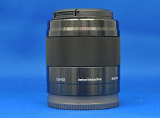 Sony SEL50F18 E 50mm F1.8 OSS Black Lens Japan Domestic Version New