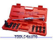 9pcs Blind Hole Bearing Hole Bushing Collet Slide Hammer Puller Remover Set