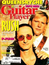 Guitar Player Magazine November 1991 Rush, Queensryche, Simple Minds, P-Funk