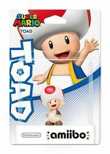 Amiibo Super Mario Collection Toad Character Wii U 3DS *New & Sealed*