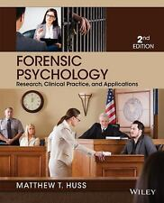 Forensic Psychology by Matthew T. Huss (2013, Paperback) ,2nd edition