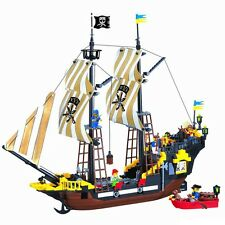 Enlighten Pirate Ship Boat Adventure Building Block #307 590pcs