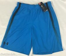 Under Armour Men's Athletic Basketball HeatGear Shorts Blue Mesh NWT Size 2XL