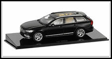 wonderful PR-modelcar VOLVO V90 WAGON 2017 -  black metallic - scale 1/43